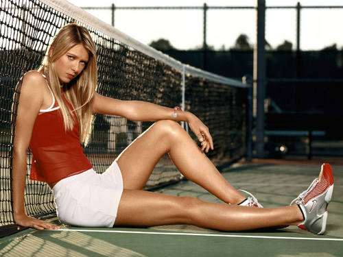 Maria Sharapova is Amazingly Toned