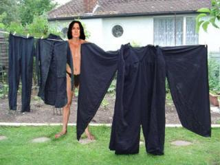 Severus Snape wallpaper titled Waiting for clothes to dry