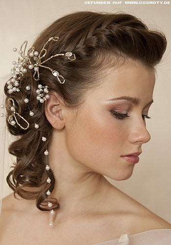 Excellent Bridal Hairstyles  Women Fashion And Lifestyles