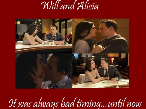 Will & Alicia wallpaper containing a portrait called It was always bad timing...until now