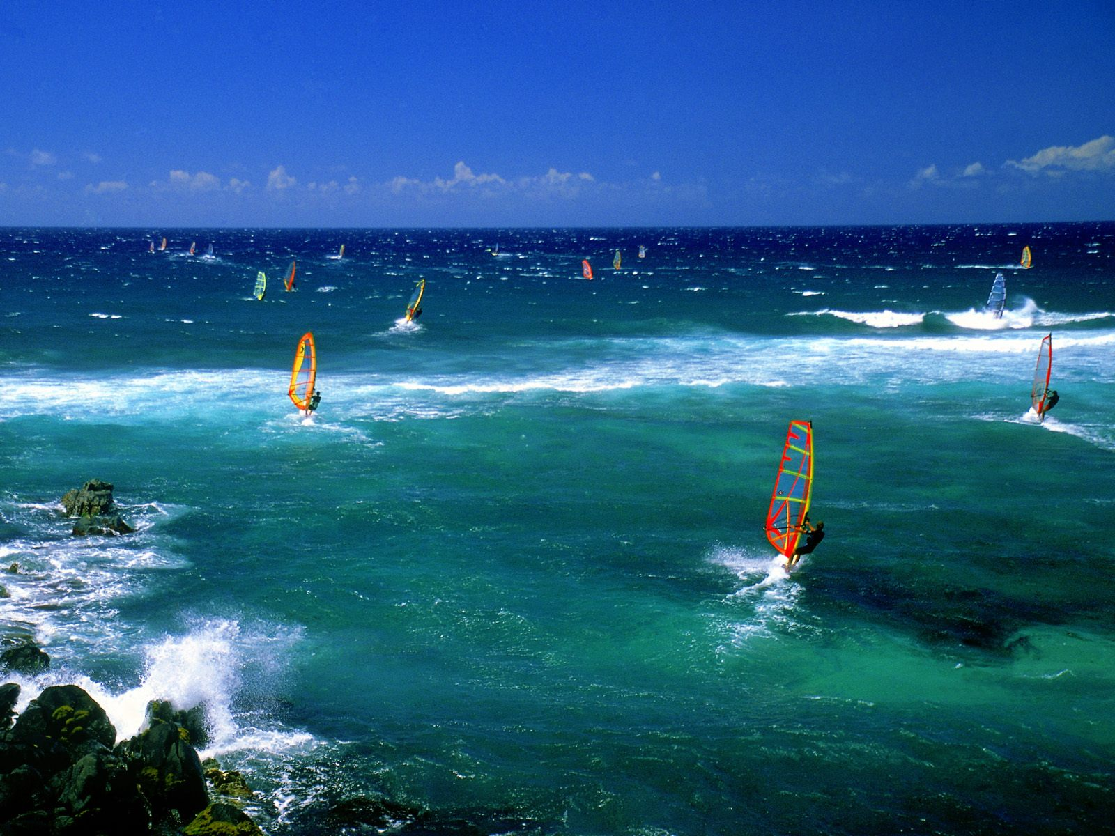 surfing images windsurfers - maui hd wallpaper and background photos