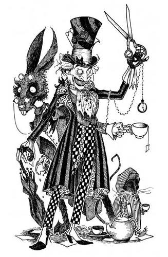 Alice in Wonderland Characters by Mechanicold ...