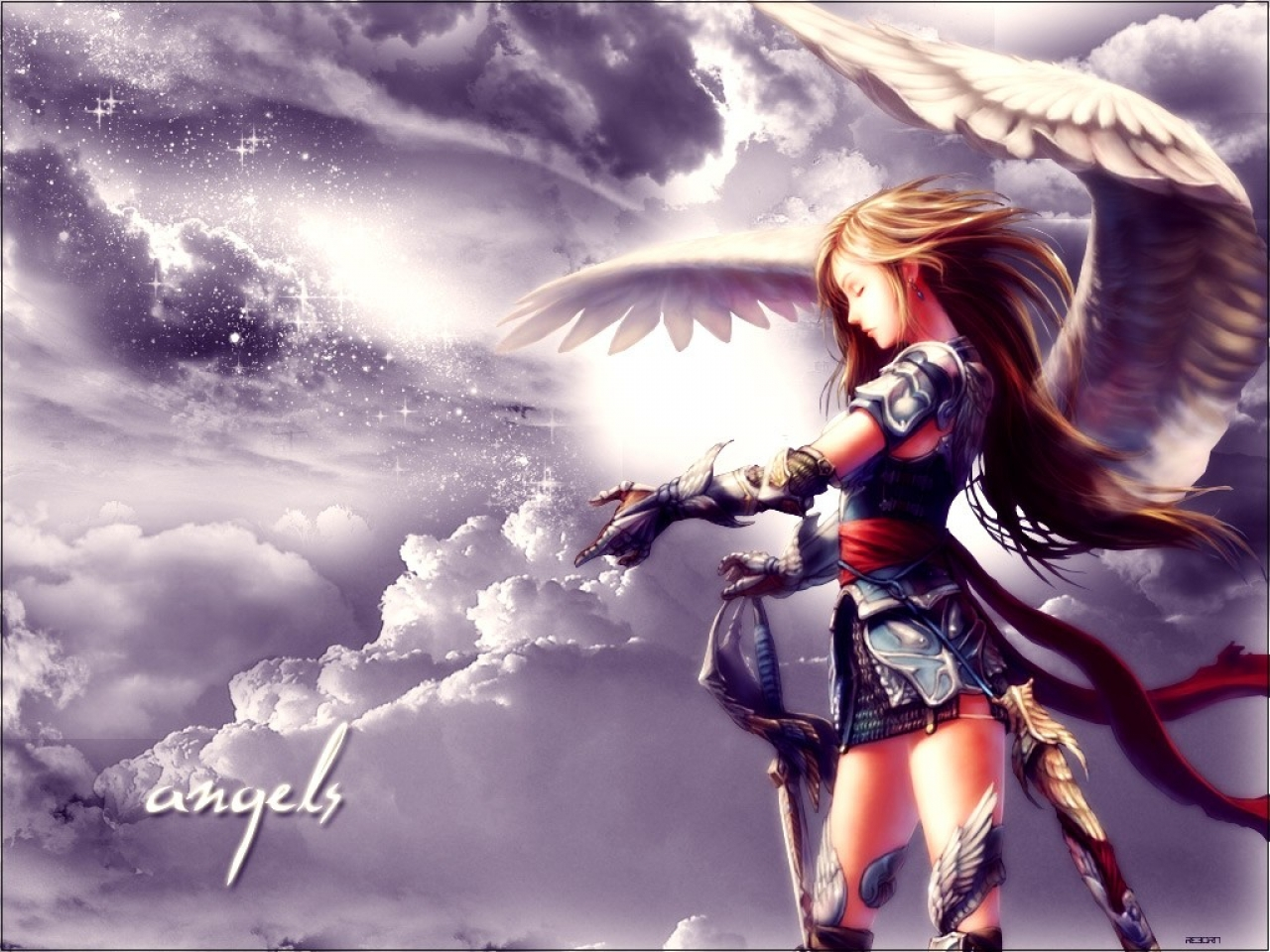 other wallpaper angel warrior - photo #13