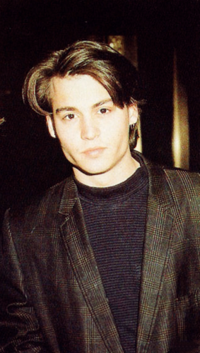 Johnny Depp wallpaper possibly with a business suit entitled Young Johnny Depp