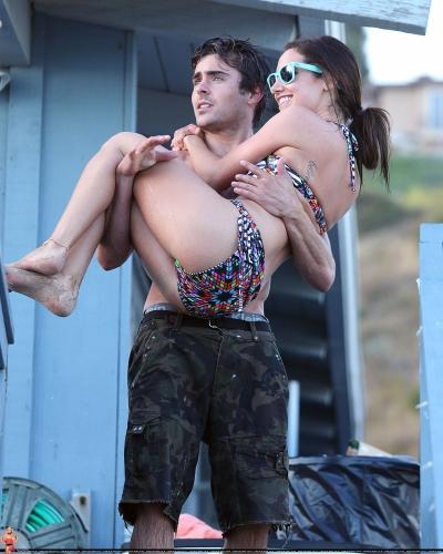 Zac & Ashley out in Malibu