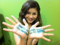 Zendaya <3 Writte in his Hands <3 - zendaya-coleman photo
