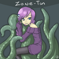 Zone-tan fanart - zone-sama fan art