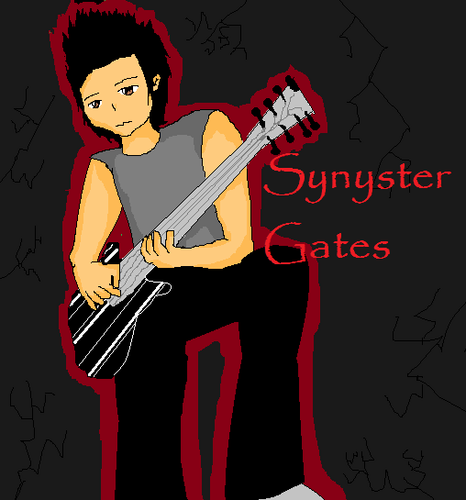a pic of Synyster I drew