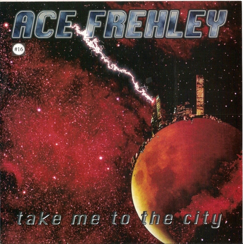 """ace frehley take me to the city rare 7"""" single"""