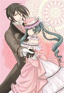 ciel and sebastian dancing