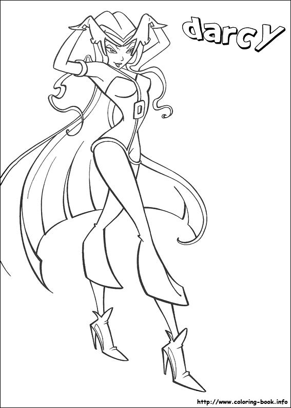 Colouring Pages The Winx Club Fan Art 23364985 Fanpop