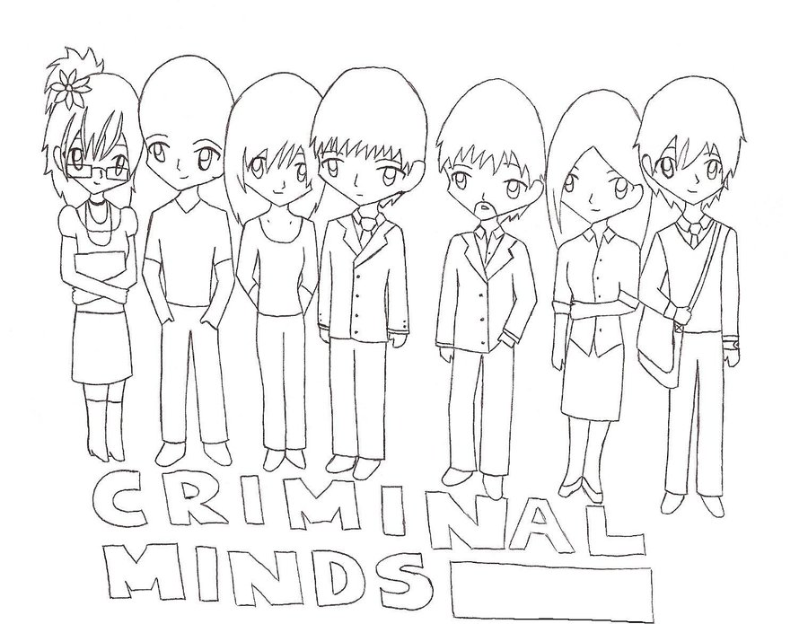 Criminal Minds Coloring Pages Coloring Pages