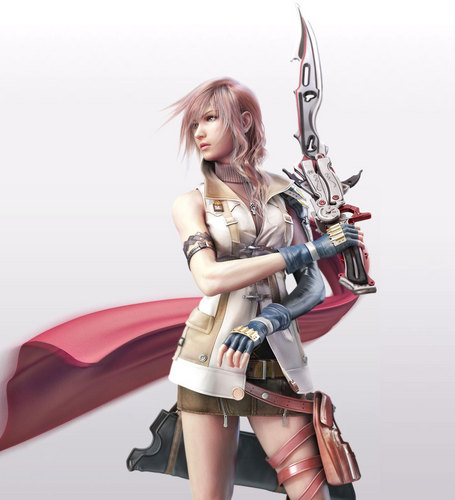 Final Fantasy wallpaper containing a hip boot titled ff13-lightning