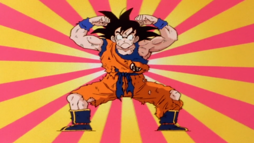 Dragon Ball Z fond d'écran containing animé titled funny goku.