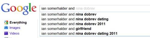 Ian Somerhalder and Nina Dobrev wallpaper entitled ian+nina