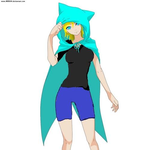 kaya's blue フード