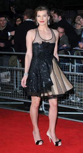 milla jovovich wallpaper probably with a koktil, koktail dress and a dress entitled magnificent milla