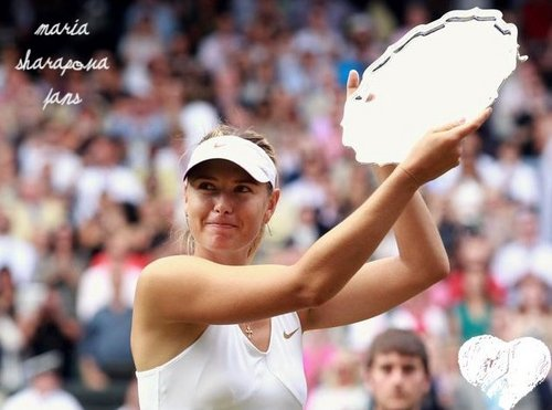 Maria Sharapova wallpaper entitled maria sharapova wimbledon final
