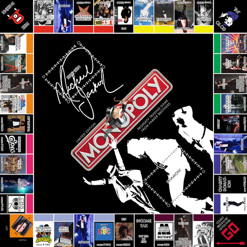 michael jackson monopoly - board-games Photo