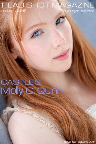 molly quinn achtergrond with a portrait called molly