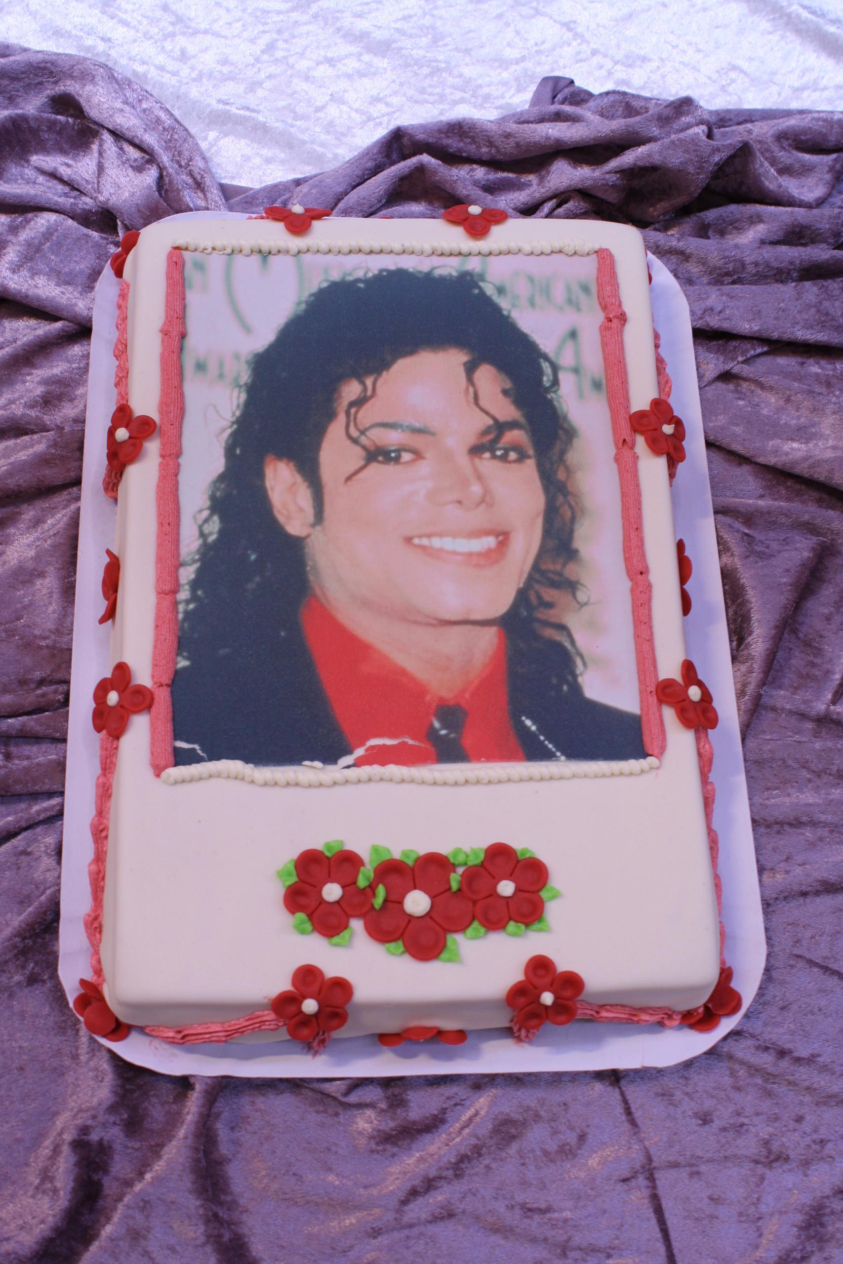 my MJ cake