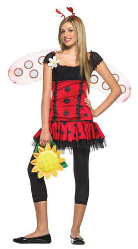 teen red lady bug
