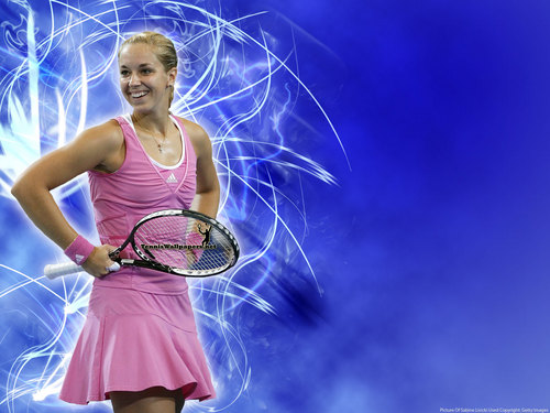 Sabine Lisicki in Blue Wave