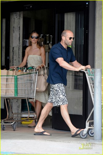 Jason Statham: Grocery Shopping!