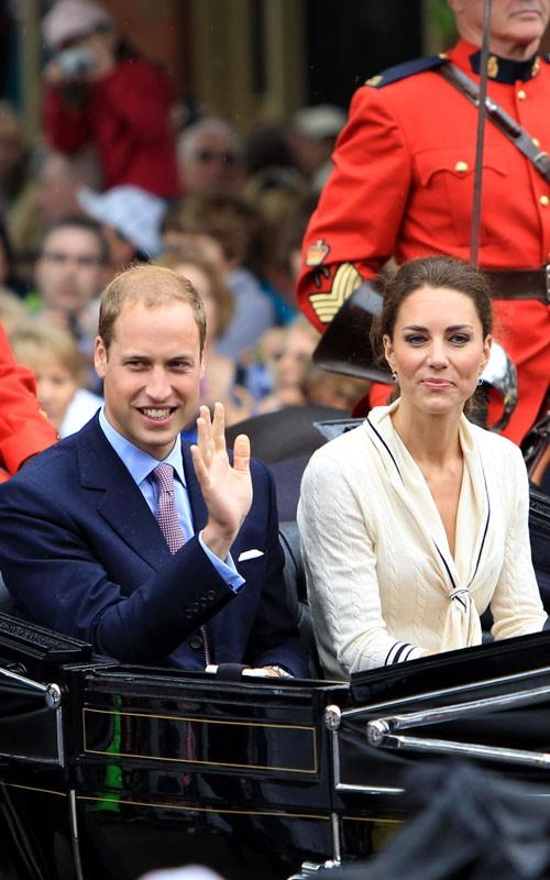 Prince William and Kate Middleton - Prince Edward Island, Canada (July 4).