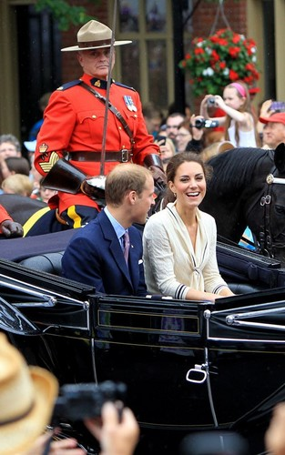 Prince William and Kate Middleton - Prince Edward Island, Canada (July 4).