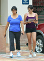 Rebecca Black leaves the Gym in Anaheim, CA, Jun 17