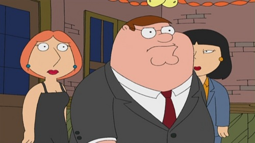 Family Guy Hintergrund with Anime entitled 'Stewie Griffin: The Untold Story'