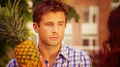 1x15- Shawn and a pineapple - psych fan art