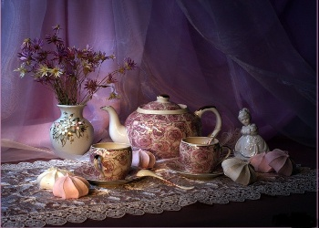 Delicious Recipes wallpaper probably with a bouquet titled A Cup Of Tea