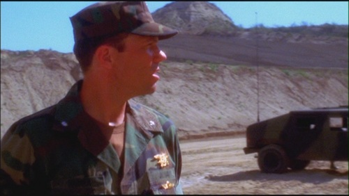 Adam Baldwin as Cmdr. Michael Rainer in NCIS 1x22 'The Weak Link' - adam-baldwin Screencap