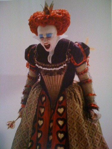 Alice in Wonderland behind the scenes