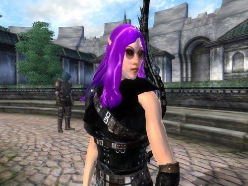 Oblivion (Elder Scrolls IV) fond d'écran called Amathyne!