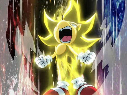 Another foto of Super Sonic