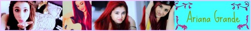 Ariana Grande photo entitled Ariana Grande Banner