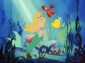 Ariel - Blonde hair - the-little-mermaid wallpaper