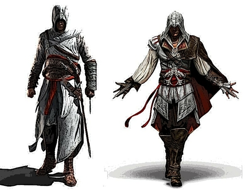 Assassin's Creed wallpaper with a breastplate and a surcoat called Assassin's Creed