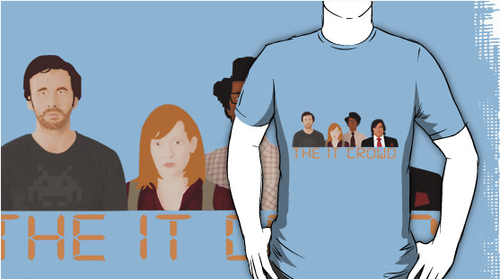 The IT Crowd wallpaper with a jersey titled Awesome IT Crowd Shirts