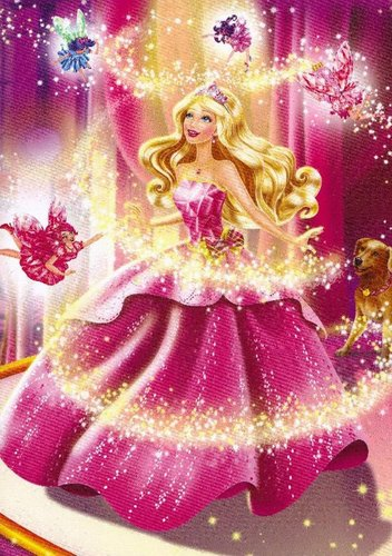 Barbie Princess Charm School Transformation