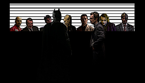 Batman Movie Villians