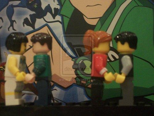 Benlie & Gwevin Lego X)