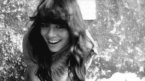 Black and White picha of Rachael Yamagata