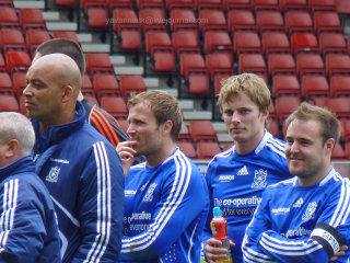 Bradley James at The Big Match 29/5/11