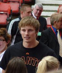 Bradley James at The Big Match 29/5/11