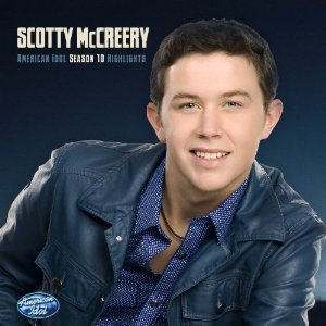 "CD cover for Scotty's ""American Idol Season 10 Highlights"""