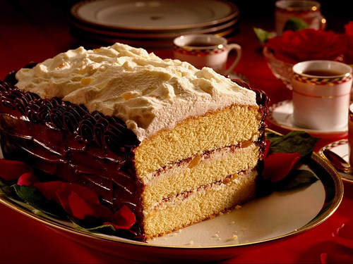 Delicious Recipes wallpaper containing a frosted layer cake and a tiramisu titled Cakes